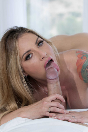 Blow job cheating wife