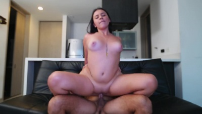 Ivana Bolivar screams as her mouth and pussy are fucked on cam