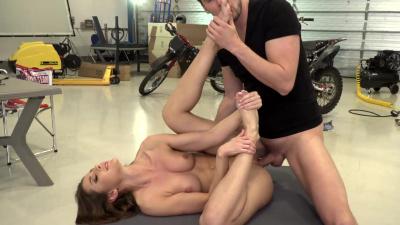 Gorgeous babe Sybil intense sex action