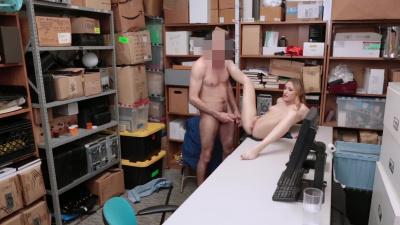 Advanced retrieval methods are deployed on pretty shoplifter Kasey Miller