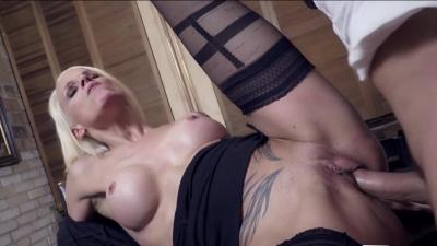 German milf Sophie Logan steamy office fuck with boss