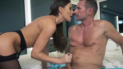 Perfect diva Tina Kay gives an amazing deep blowjob and intense anal
