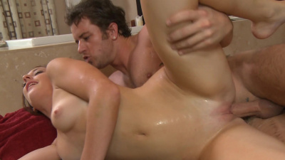Masseuse Casana Lei uses every inch of the massage room as a sexual playground