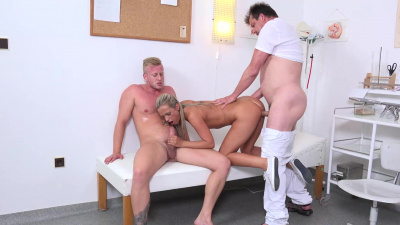Petra loses her virginity during doctor visit