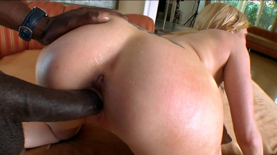 Buxom lady Christie Stevens first interracial experience