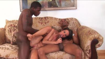 Jennifer Dark is a big fan of handsome black guys