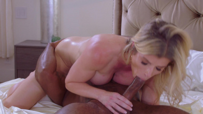 Frustrated wife Cory Chase cheats on her husband with bbc