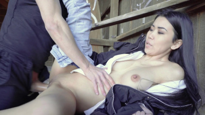Asian starlet Alina Crystall banged by a big cock POV