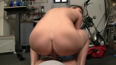 Euro-blonde Samantha Jolie enjoys anal penetration