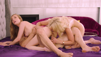 Serena Avary and Karla Kush having sex with some married guy