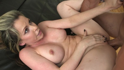 Courtney Cummz toys her butthole with sex toys before getting the real dick