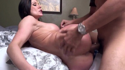 Kendra Lust bounces her fat ass on a big cock & gets facialed